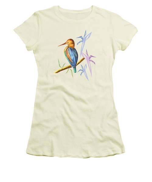 The King Appeared A Women's T-Shirt (Junior Cut) by Thecla Correya