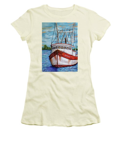 The Lady Roux Women's T-Shirt (Athletic Fit)
