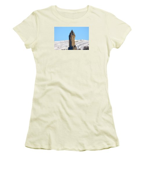 The National Wallace Monument Women's T-Shirt (Athletic Fit)