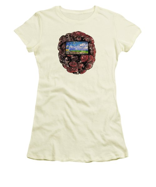 The Blackberry Concept Women's T-Shirt (Athletic Fit)