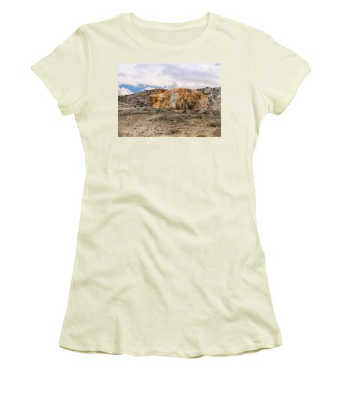 Women's T-Shirt (Athletic Fit) featuring the photograph The Other Yellowstone by John M Bailey