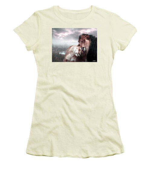 The Passion Women's T-Shirt (Athletic Fit)