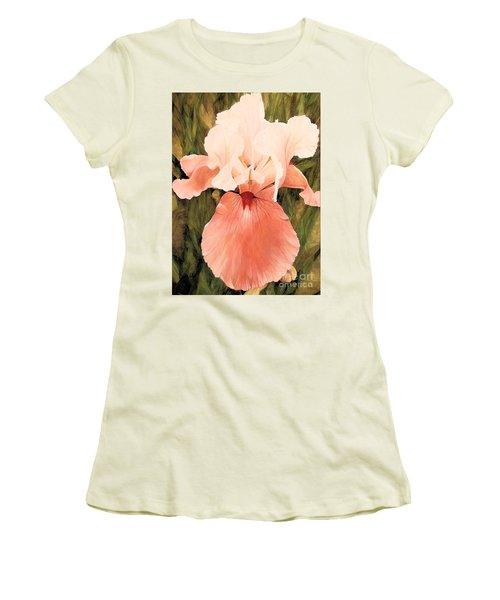 The Pink Lady  Women's T-Shirt (Junior Cut) by Laurie Rohner