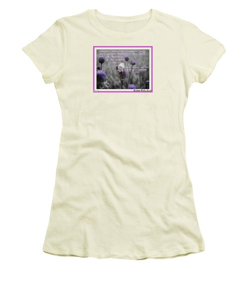 The Problem Is Them Women's T-Shirt (Junior Cut) by Holley Jacobs