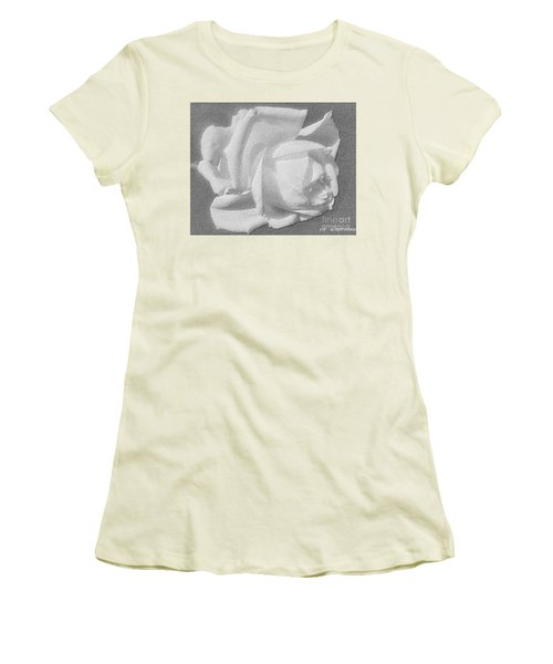 The Rose Women's T-Shirt (Junior Cut) by Saribelle Rodriguez