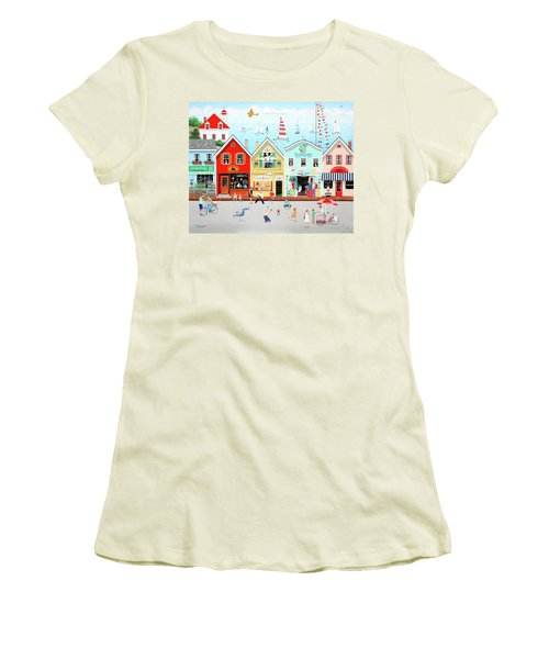 The Singing Bakers Women's T-Shirt (Athletic Fit)