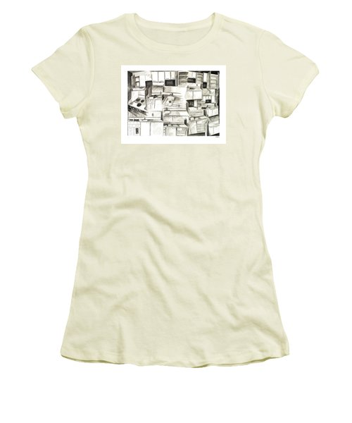 The Sink Exploded Women's T-Shirt (Athletic Fit)
