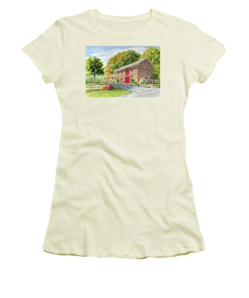 The Stone House Women's T-Shirt (Athletic Fit)
