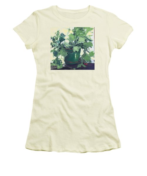 The Sweet Potato Plant Women's T-Shirt (Athletic Fit)