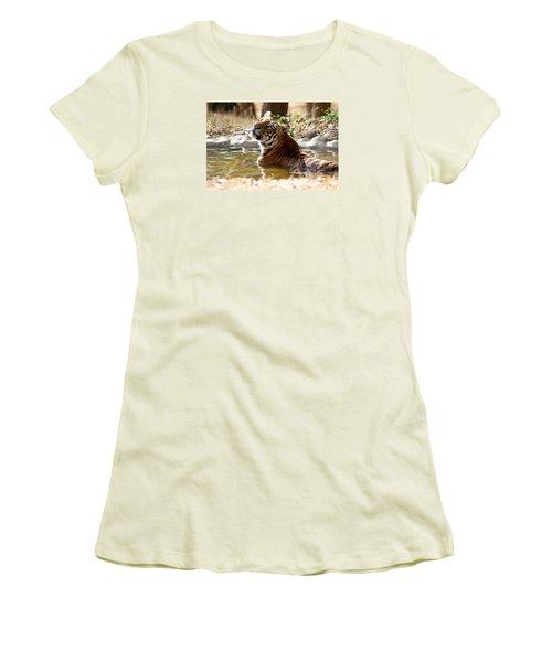 The Thinker Women's T-Shirt (Junior Cut) by Ramabhadran Thirupattur