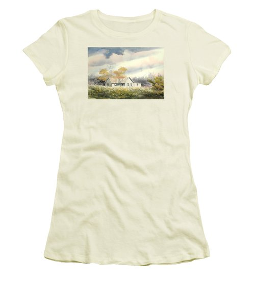 The Thompson Place Women's T-Shirt (Junior Cut) by Sam Sidders