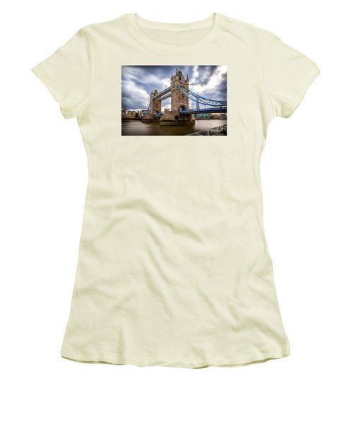 The Three Towers Women's T-Shirt (Junior Cut) by Giuseppe Torre