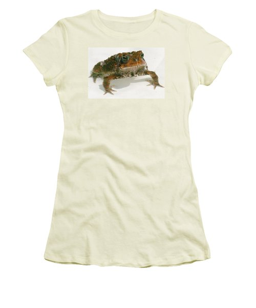 Women's T-Shirt (Junior Cut) featuring the digital art The Whole Toad by Barbara S Nickerson