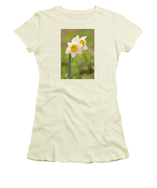 Thinking About Spring Women's T-Shirt (Junior Cut) by Alana Ranney