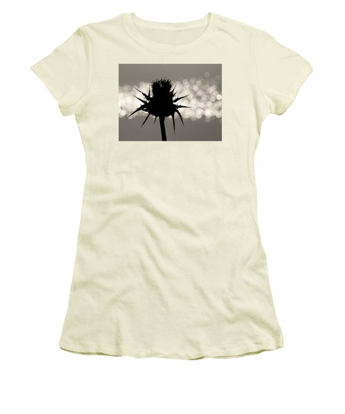 Thistle Silhouette - 365-11 Women's T-Shirt (Junior Cut)