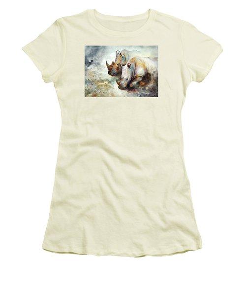Thunderstruck Women's T-Shirt (Athletic Fit)