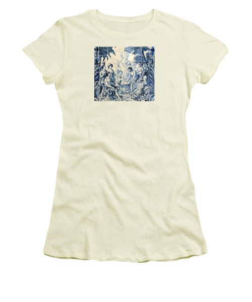 Tile Art Women's T-Shirt (Athletic Fit)