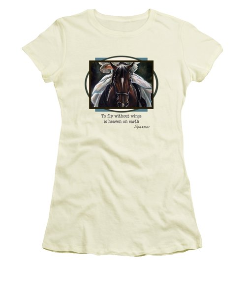 To Fly Without Wings Women's T-Shirt (Athletic Fit)