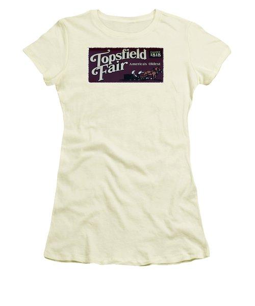 Topsfield Fair 1818 Women's T-Shirt (Athletic Fit)