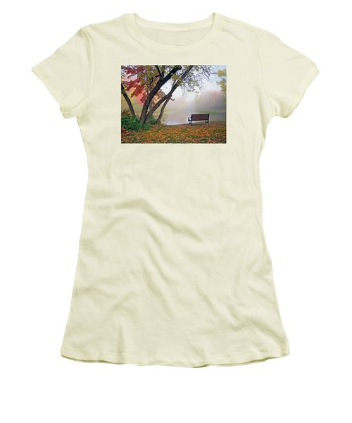 Tranquil View Women's T-Shirt (Junior Cut) by Betsy Zimmerli