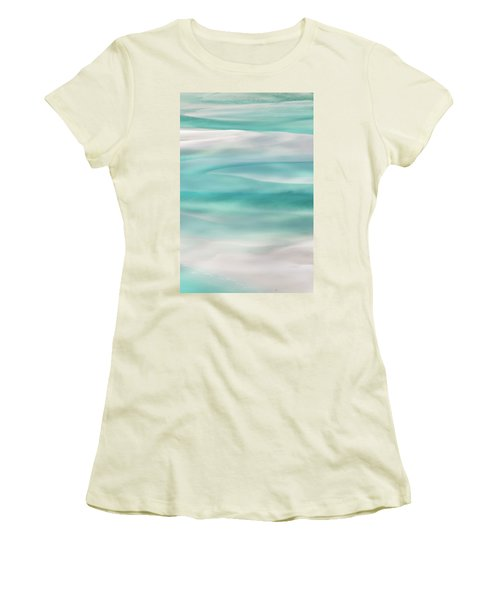 Tranquil Turmoil Women's T-Shirt (Junior Cut) by Az Jackson