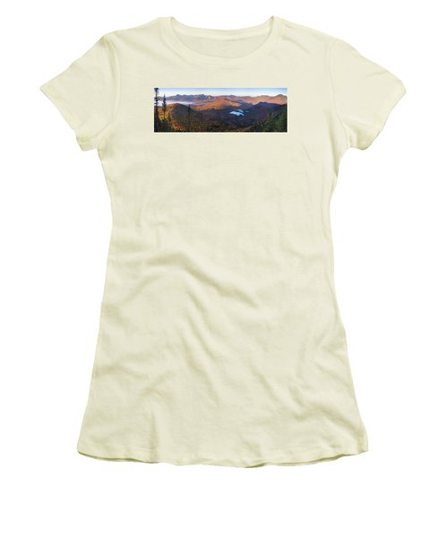 Tremont Autumn Morning Panorama Women's T-Shirt (Athletic Fit)