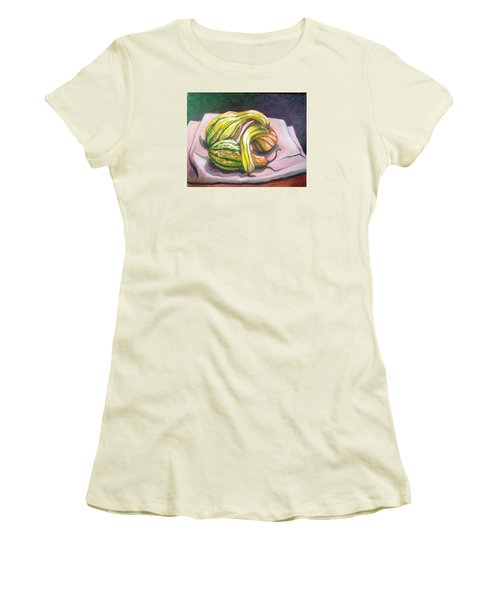 Gourd Grouping Women's T-Shirt (Junior Cut) by Laura Aceto