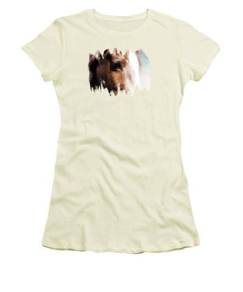 Tumbleweed Up Close Women's T-Shirt (Athletic Fit)