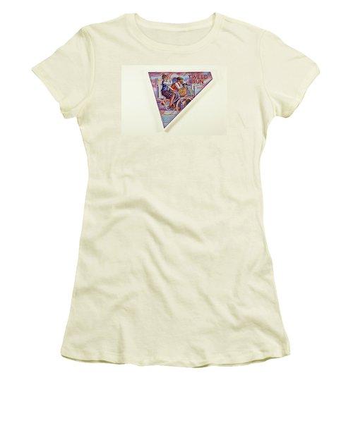 Tweed Run London Princess And Guvnor  Women's T-Shirt (Junior Cut) by Mark Jones