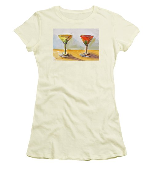 Two Perfect Martinis Women's T-Shirt (Athletic Fit)
