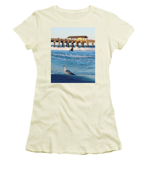 Tybee Island Women's T-Shirt (Athletic Fit)