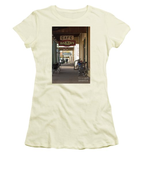 Women's T-Shirt (Athletic Fit) featuring the photograph Undoing All The Good Work by Linda Lees
