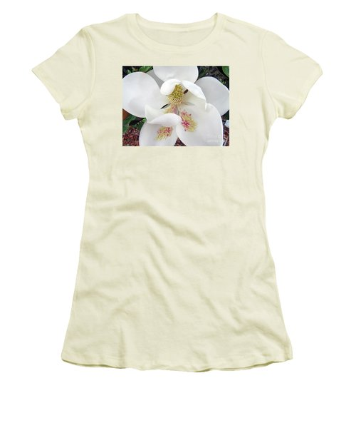 Unfolding Beauty Of Magnolia Women's T-Shirt (Athletic Fit)