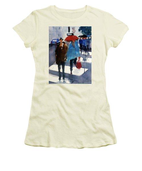 Union Square9 Women's T-Shirt (Junior Cut) by Tom Simmons