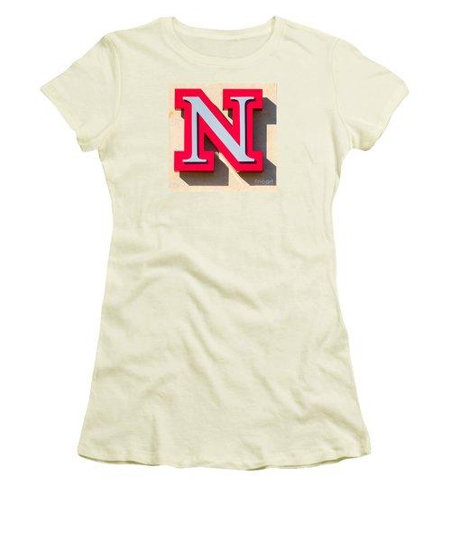 UNL Women's T-Shirt (Junior Cut) by Jerry Fornarotto
