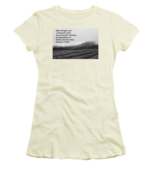Uplifting Fog Women's T-Shirt (Athletic Fit)