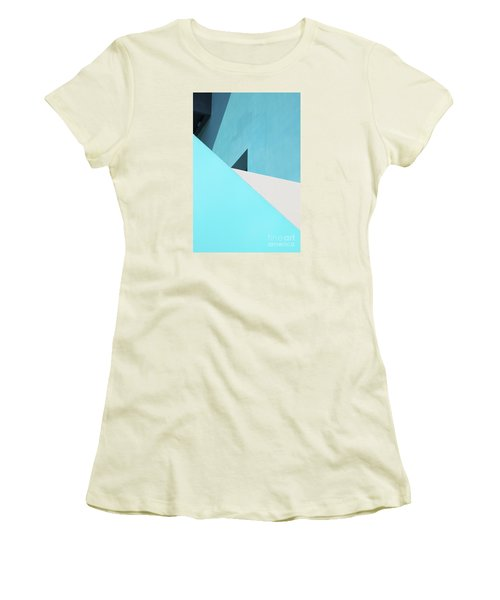 Urban Abstract 3 Women's T-Shirt (Junior Cut) by Elena Nosyreva