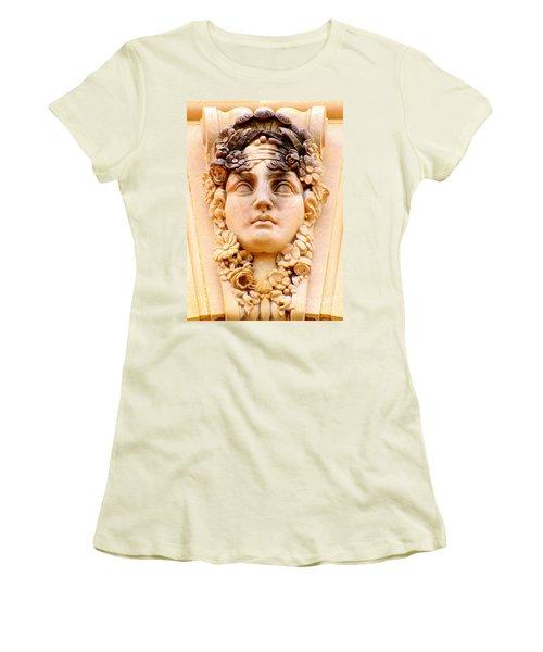 Us Botanical Garden 3 Women's T-Shirt (Junior Cut) by Randall Weidner