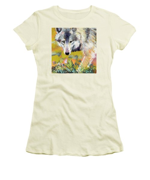 Vagabond Women's T-Shirt (Junior Cut) by Pattie Wall