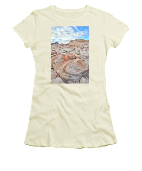Valley Of Fire Beehives Women's T-Shirt (Junior Cut) by Ray Mathis