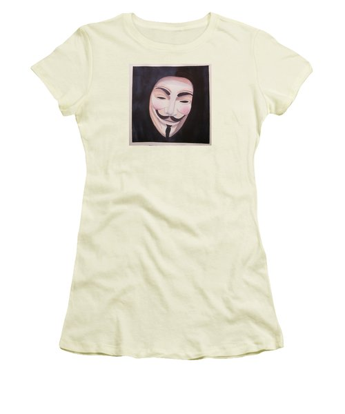 Vendetta Women's T-Shirt (Junior Cut) by Teresa Beyer