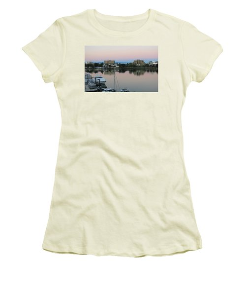Victoria Harbor Dawn Women's T-Shirt (Athletic Fit)