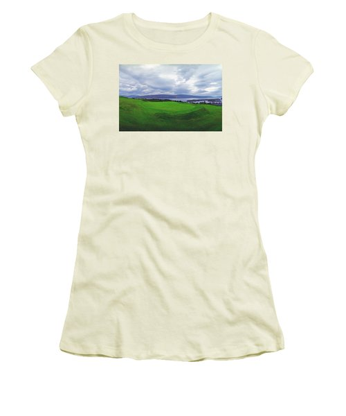 Views Of The Seas Women's T-Shirt (Junior Cut) by Jan W Faul