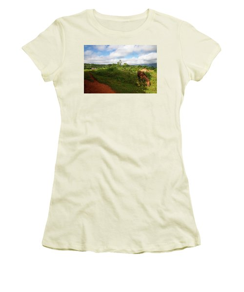 Vinales Valley II Women's T-Shirt (Athletic Fit)