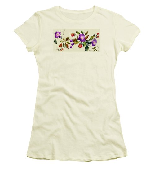 Vintage Charm Women's T-Shirt (Junior Cut) by RC deWinter