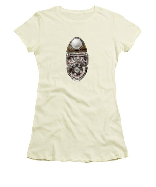 Vintage Sekonic Deluxe Light Meter Women's T-Shirt (Athletic Fit)