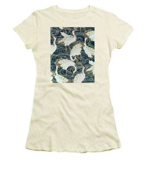 Vintage Wallpaper Design Women's T-Shirt (Junior Cut) by English School