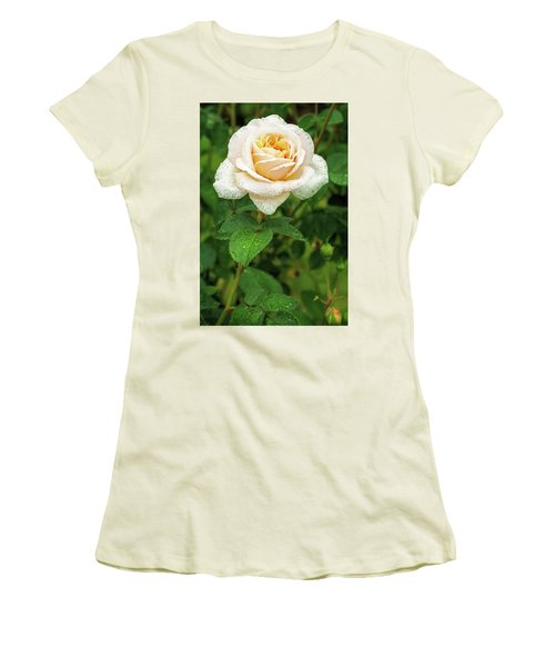 Women's T-Shirt (Junior Cut) featuring the photograph Virtue Of Pureness by Ken Stanback