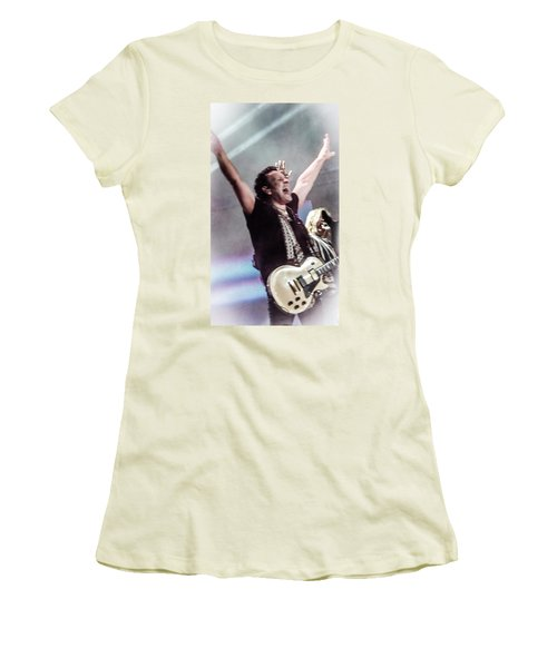 Vivian Campbell - Campbell Tough Women's T-Shirt (Junior Cut) by Luisa Gatti