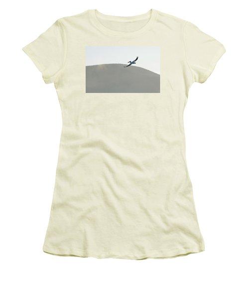 Women's T-Shirt (Junior Cut) featuring the photograph Voyager by Brian Duram
